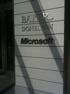 Microsoft's offices in downtown DC